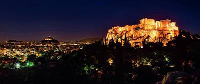 The Acropolis Poster by Babak Tafreshi