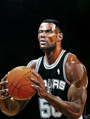 The Admiral David Robinson Poster by Michael  Pattison