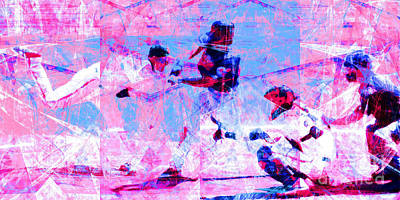 The All American Pastime 20140501 Long V2 Poster by Wingsdomain Art and Photography