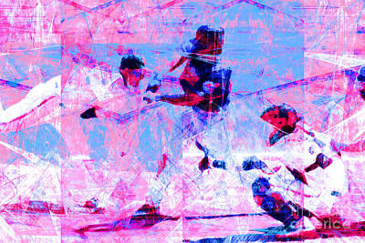 The All American Pastime 20140501 V2 Poster by Wingsdomain Art and Photography