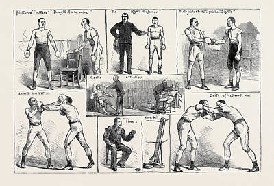 The Amateur Boxing Association Competition At St Poster