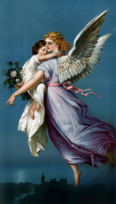 The Angel Of Peace For I Phone Poster