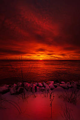 The Angels Have A Better View Poster by Phil Koch