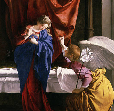 The Annunciation, C.1623 Oil On Canvas Detail Of 59265 Poster