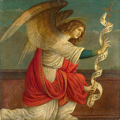 The Annunciation. The Angel Gabriel Poster