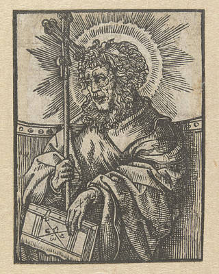 The Apostle Philip, Anonymous, Jacob Cornelisz Van Oostsanen Poster