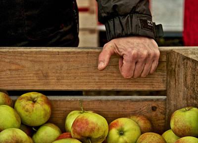 The Apple Seller Poster