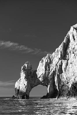 The Arch In Black And White Poster