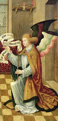 The Archangel Gabriel Poster by German School