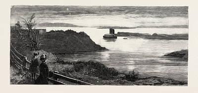 The Ark At Tier Moorings In Granton Quarry, Near Edinburgh Poster