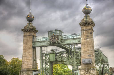 The Art Nouveau Ships Elevator - Portal Poster by Heiko Koehrer-Wagner