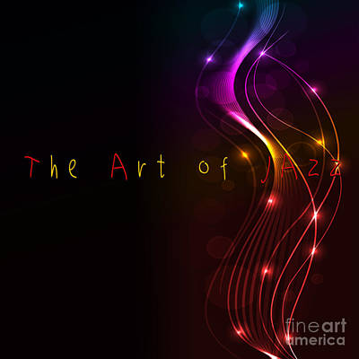 The Art Of Jazz Poster by Liane Wright