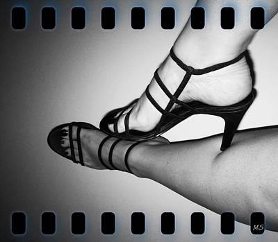 The Art Of Stilettos Poster by Absinthe Art By Michelle LeAnn Scott
