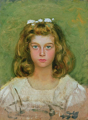 The Artists Daughter Poster by Edoardo Gioja