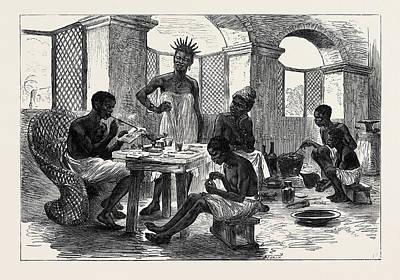 The Ashantee War Jewellers Shop Cape Coast Castle 1874 Poster