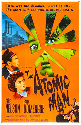 The Atomic Man, Aka Timeslip, Us Poster by Everett