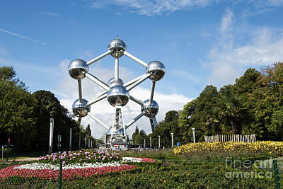 The Atomium Poster by Juli Scalzi