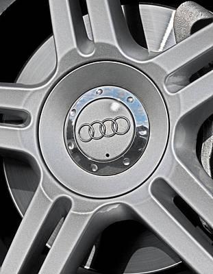 The Audi Wheel Poster