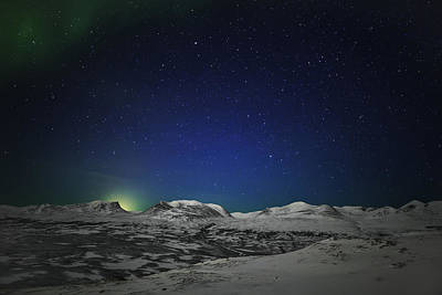 The Aurora Borealis Or Northern Lights Poster