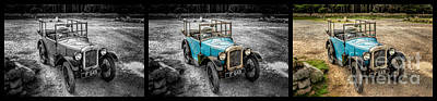 The Austin 7 Poster by Adrian Evans