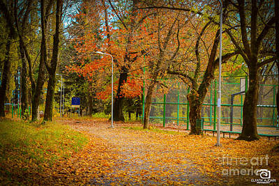 The Autumn Season 1  Poster by Elfatik Ajdari