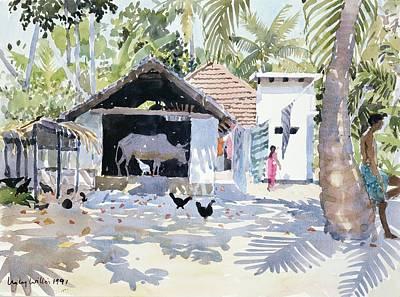 The Backwaters, Kerala, India Poster