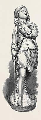 The Baffled Hawk Poster by Munro, Alexander (1825-71), Scottish