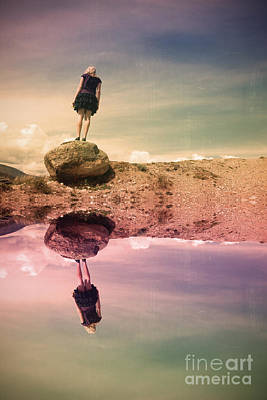 The Balancing Act Poster by Tara Turner