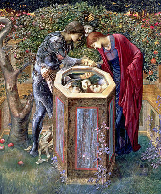 The Baleful Head, C.1876 Poster by Sir Edward Coley Burne-Jones