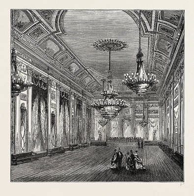 The Ball-room, Williss Rooms Poster by Litz Collection