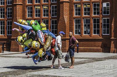 The Balloon Seller Poster by Steve Purnell