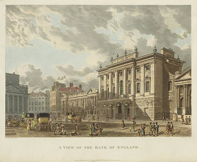 The Bank Of England Poster
