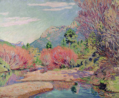 The Banks Of The Sedelle At Crozant Poster by Jean Baptiste Armand Guillaumin