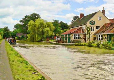 The Barge Inn Seend Poster