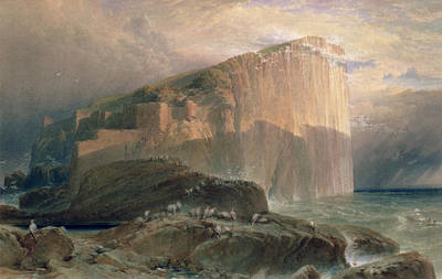 The Bass Rock, East Lothian, 1870 Poster