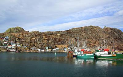 The Battery, St John's, Newfoundland Poster