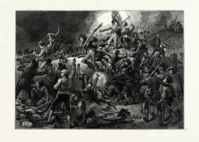 The Battle Of Bunker Hill, June 17 Poster