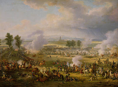 The Battle Of Marengo, 14th June 1800, 1801 Oil On Canvas Poster by Louis Lejeune