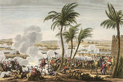 The Battle Of The Pyramids, 3 Poster by Jacques Francois Joseph Swebach