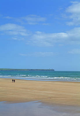 The Beach At Tramore, County Waterford Poster by Panoramic Images