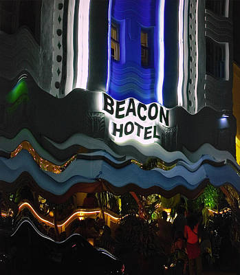 Poster featuring the photograph The Beacon Hotel by Gary Dean Mercer Clark