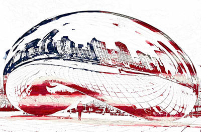 The Bean - American Icon Poster
