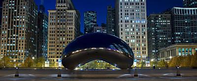 The Bean At Millennium Park Chicago Poster by Steve Gadomski