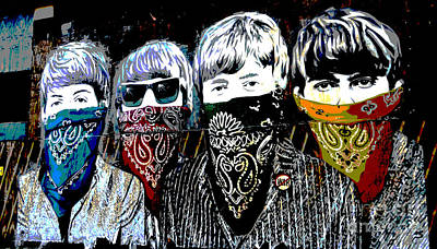 The Beatles Poster by RicardMN Photography