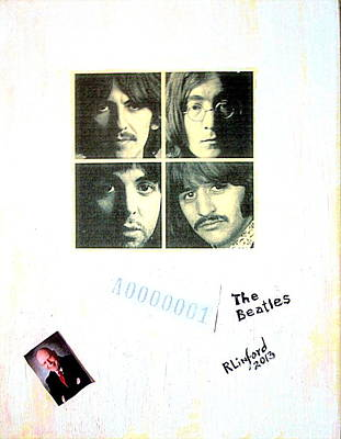 The Beatles White Album A0000001 Poster by Richard W Linford