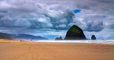 The Beautiful Cannon Beach Poster by David Patterson