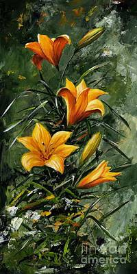 The Beauty Flower 06 Poster by Emerico Imre Toth