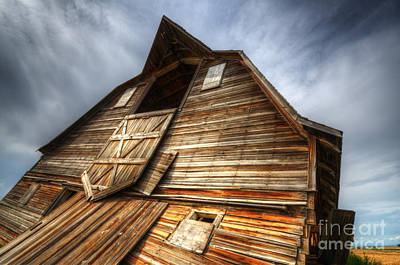 The Beauty Of Barns 3 Poster by Bob Christopher