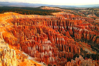 The Beauty Of Bryce Canyon In The Morning Poster
