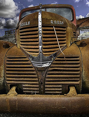 Poster featuring the photograph The Beauty Of Rust by Gary Neiss